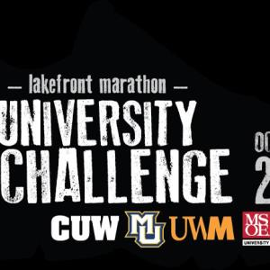 The 7th annual Milwaukee Lakefront Marathon University Challenge