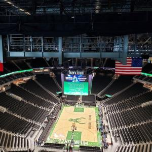 CUW Alumni Fiserv Forum Behind the Scenes Tour, Bucks Game, and Social