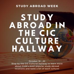 CIC: Study Abroad Week