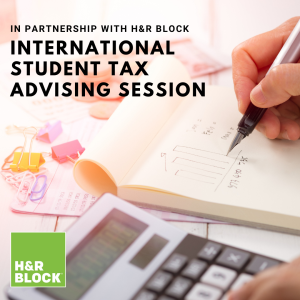 International Student Tax Advising Session