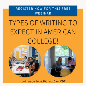 Types of Writing to Expect in College