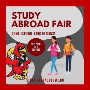Fall Study Abroad Fair