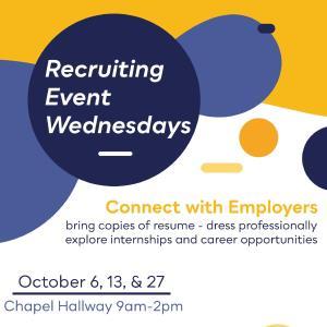 Recruiting Event Wednesday