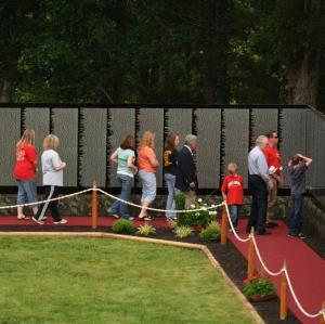 Veterans Week: The Moving Wall, Opening Ceremonies