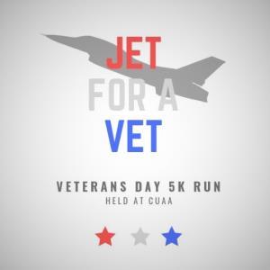 5K Run: 'Jet for a Vet'
